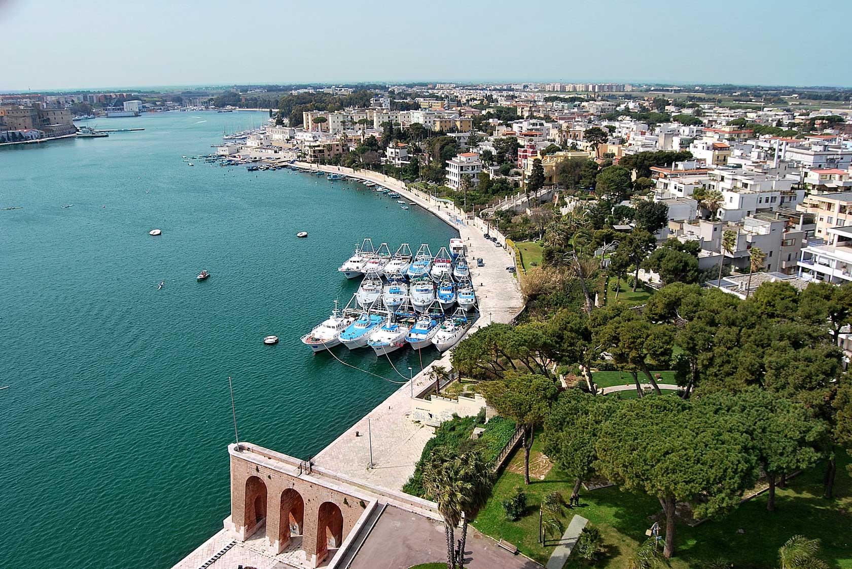 Il porto di Brindisi