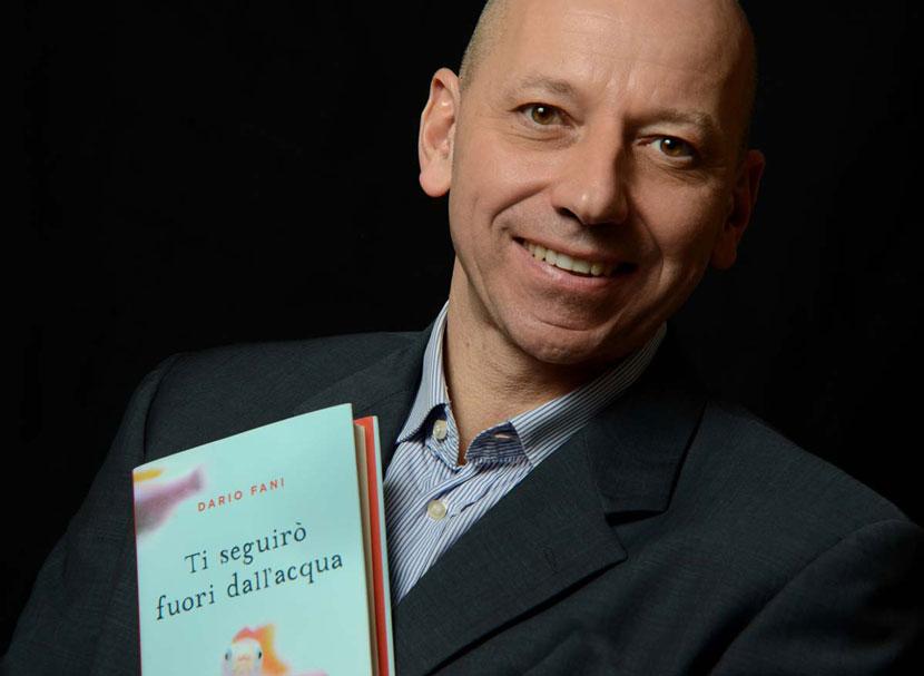 Dario Fani autore di Ti seguirò fuori dall'acqua