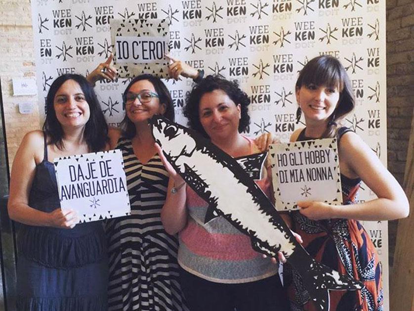 Noi di C+B a Weekendoit di Gaia Segattini
