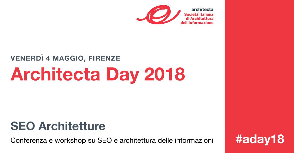 SEO Architetture. Conferenza e workshop su SEO e architettura delle informazioni