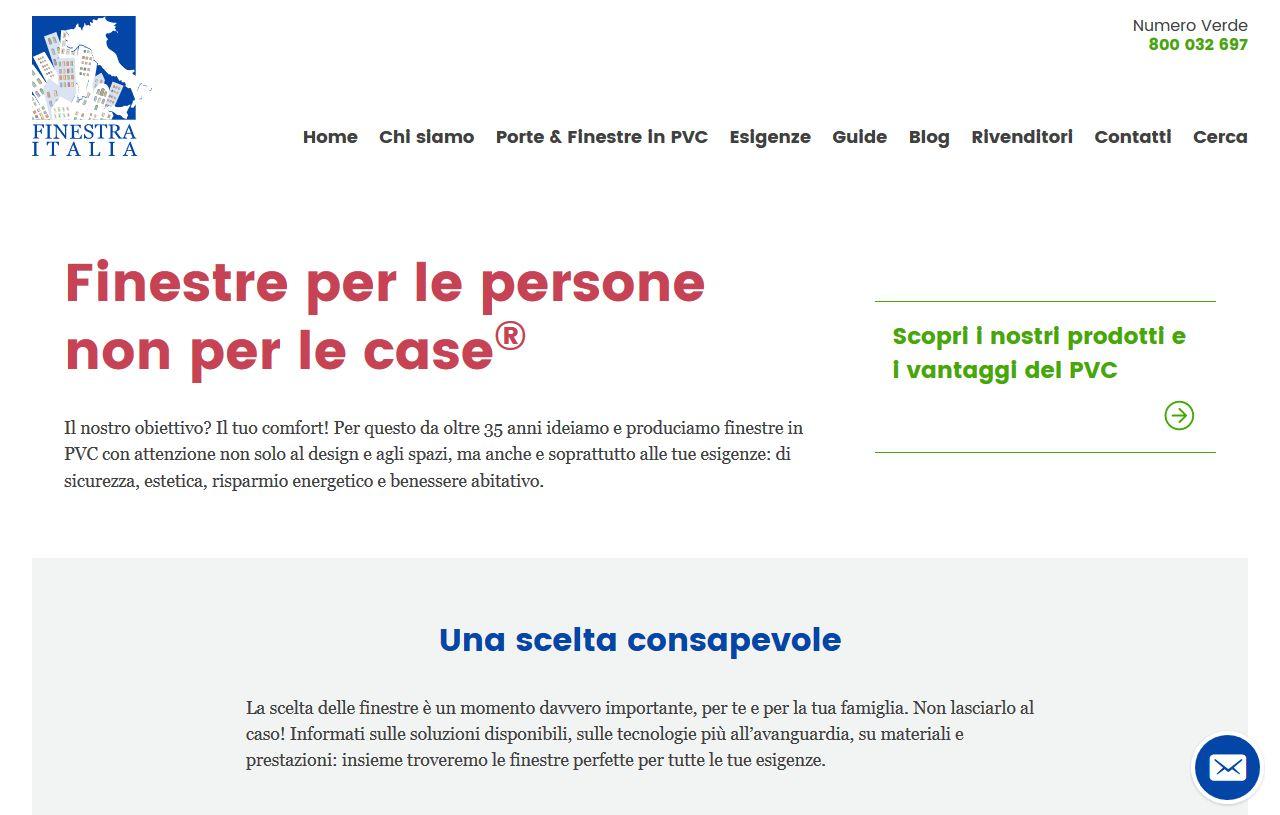 Home page di Finestra Italia