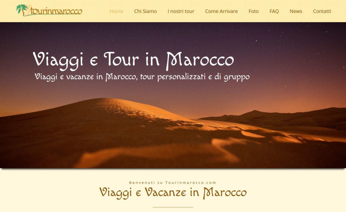 Home page di Tour in Marocco